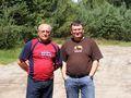 Nasi kierowcy i równocześnie trenerzy: Lesław Gal i Grzegorz Bocheński
