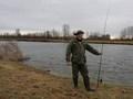 Nawet będąc na rybach można się prezentować