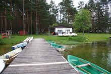 Jezioro Wiartel  przystań