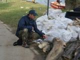 Katastrofa ekologiczna na Bugu - Wyszków lipiec 2009