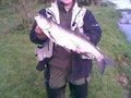 Wędkarz:  Wojtek Ryba: Boleń Aspius aspius Długość: 68 cm Data: 04 maja 2008 Miejsce: Warta