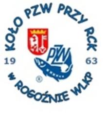 logo koła PZW przy RCK w Rogoźnie