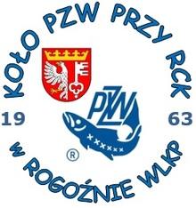 logo Koła PZW przy RCK w Rogoźnienowy herb