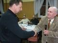 Wręczenie srebrnej odznaki dla kol. Andrzeja Wołowskiego połączone z głębokim spojrzeniem w oczy !