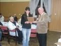 Podziękowania dla sponsora czyli Sklepu Wędkarskiego Pani Iwony Zgierskiej - fundatora głównej nagrody dla Wędkarza Roku 2009