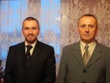 Prezes Koła Marek Dembski i Sekretarz Koła Paweł Wółkowski Junior