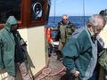 Nasi koledzy na morzu.