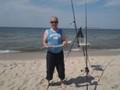 Ryba została złowiona w 6 czerwca 2015r. podczas zawodów GPx Polski na morzu Bałtyckim w okolicach Orzechowa z brzegu przez kol. Aleksandra Andrejczuka Ryba mierzyła 78,8 cm i skusiła się na filet ze śledzia