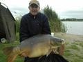 Karp został złowiony 15 września 2012r. na łowisku w Nekielce o godz. 10:00. Przynętą była kulka proteinowa SK30. Ryba ważyła 18,5 kg. Szczęśliwym łowca był kol. Ryszard Zajdel.