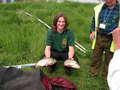kol. Marek Wróbel i ryby które złowił  (4575 kg) Zwycięzca w swoim sektorze i kategorii Open (Wrocław)