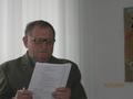 p. Prezes Koła Tadeusz KAMOLA otworzył Walne Zgromadzenie
