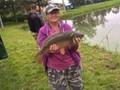 ryba złowiona na łowisku w Siedlcach