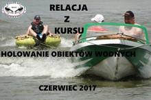 HOLOWANIE OBIEKTÓW WODNYCH kurs 2017
