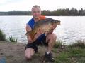 Krzysiek Powałka karp 7,40 kg 21.04.2014