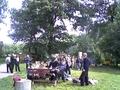 Przekąska po zwiedzaniu Ośrodka ,serwowana przez pracowników Biura ZO PZW i Ośrodka w Szczodrem.