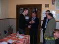 Spławikowy II wicemistrz koła 2011r. - Gerhard Krupa, odbiera w zastępstwie syn Mateusz.