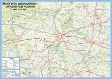 mapa wód PZW Poznań