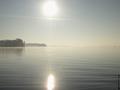 Jesienne jezioro.