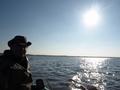 I znów płyniemy w poszukiwaniu ryb.