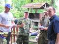 koledzy z SSR Świebodzin - II miejsce w zawodach