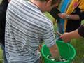 Ważenie ryb Mateusza Mofiny - II miejsce wśród seniorów 2180 punktów