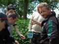 Ważenie ryb skarbnika koła Lukasza Kałużnego- 5 miejsce wśród seniorów 1230 punktów