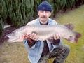 10.11.2011r. - szczupak - 102 cm i waga 8,60 kg, złowiony metodą spinningową przez kol. Roberta Ostasza.